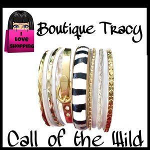 Call of the Wild Bracelet Stack OOAK